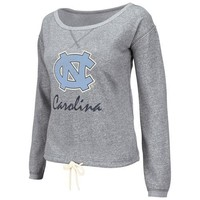 North Carolina Tar Heels (UNC) Ladies Heritage Pullover Fleece Sweatshirt - Ash
