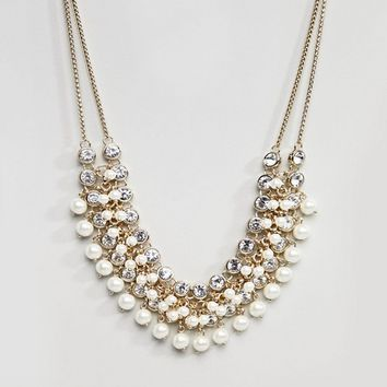 Coast Pearl Necklace at asos.com