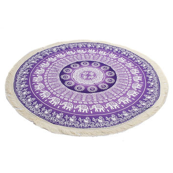 New Bohemian Mandala Beach Tapestry Wall Hanging Carpet Towel Throw Tapestry Beach Yaga Bedspread Towel Blanket Rug