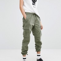 Carhartt WIP Boyfriend Camper Military Bottoms at asos.com