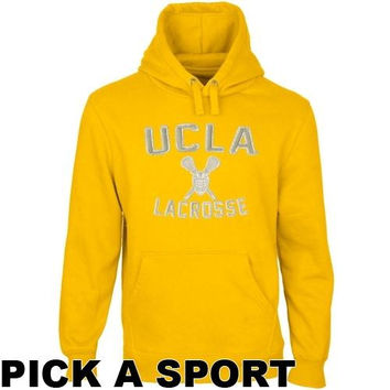 UCLA Bruins Legacy Pullover Hoodie - Gold