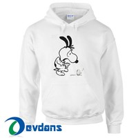 Snoopy And Ghost Baby Hoodie Unisex Adult Size S to 3XL