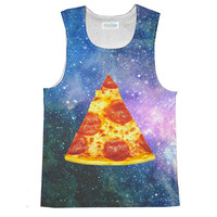 Pizza Galaxy Sublimated Tank Top