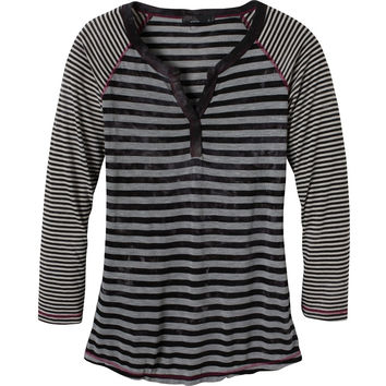 prAna Zoe Henley Top - Long-Sleeve - Women's