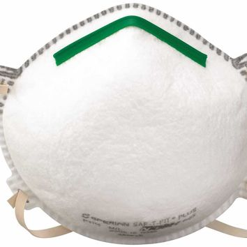 Saf-t-fit® Plus N95 Respirator With Boomerang Nose Seal And Valve