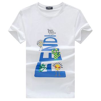 FENDI T-Shirt Top Tee-29