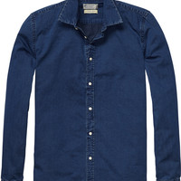 relaxed fit denim shirt - Scotch & Soda