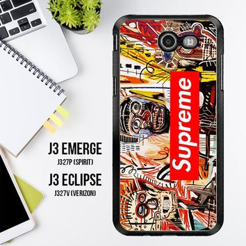 Supreme To Release Collection Featuring Basquiats V1635 Samsung Galaxy J3 Emerge, J3 Eclipse , Amp Prime 2, Express Prime 2 2017 SM J327 Case