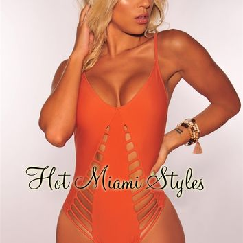 Amber Cut Out Swimsuit