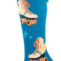 Retro Roller Skates Knee High