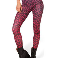 Fish Scales Print Leggings