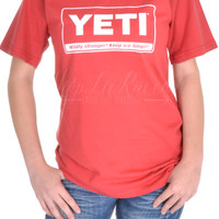 Yeti Coolers Billboard Tee - Brick