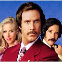 Anchorman Cast Will Ferrell Movie Poster 11x17