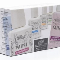 NEW Gelish Complete Basix Gel Nail Polish Starter Kit Package - Base Top Remove