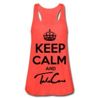 Keep Calm And Take Care Tank Top