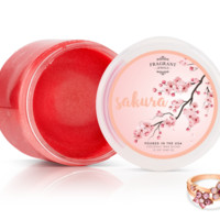 Sakura - Body Scrub With a Ring and a Chance to Win a $10k Ring