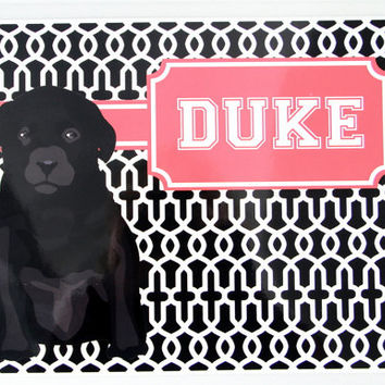 Dog Placemat, Dog Foot Mat, Pet Placemat, Pet Food Mat, Personalized Pet Placemat, Laminated Placemat, Dog