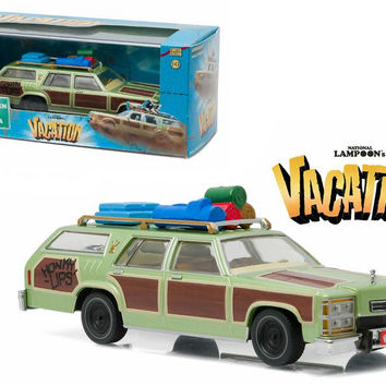 "1979 Family Truckster ""Wagon Queen"" Honky Lips Version ""National Lampoon's Vacation"" Movie (1983) 1-43 Diecast Model Car by Greenlight"