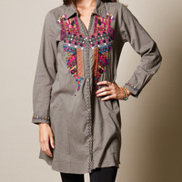 Isha Embroidered Tunic