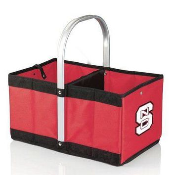 PICN-546001004240-NCAA North Carolina State Wolfpack Urban Market Basket, Red