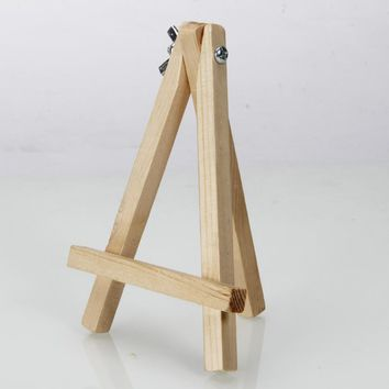 "Mini 5.6"" Artist Wood Tripod Easel Display Stand for Drawing Sketching Painting"
