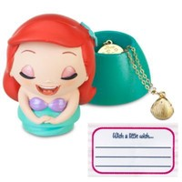 Kidada for Disney Store Wish-a-Little Ariel Figure with Charm Necklace | Jewelry | Disney Store