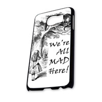 were are mad here sketsa Samsung Galaxy S6 Case
