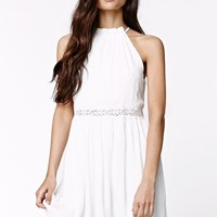 LA Hearts Sundress - Womens Dress - White