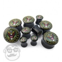 "United States Army Plugs (2 Gauge - 5/8"") 