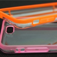 Luminous Glow in the Dark Cover Case for iPhone 5C (Set of 2: Pink + Orange)