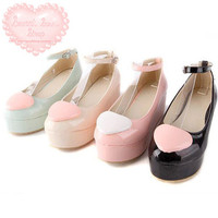 Sweet Heart Design Ballet Platforms