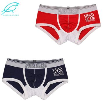 Pink Hero Underwear: Men's Trunks Classic P2 in 2-Pack Color Combos