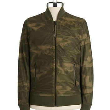 G-Star Raw Zip Up Reversible Bomber Jacket