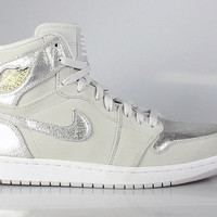 Air Jordan 1 I Men's Retro High Silver 25th Anniversary