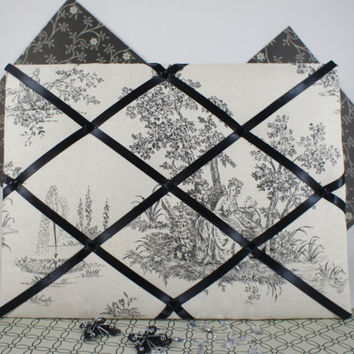 Pin Boards / Notice Boards / Memory Board / Ribbon Board / Memo Boards in Paris Fabric