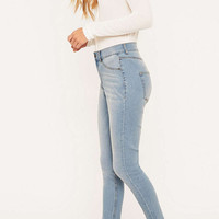 Cheap Monday High Spray On Stone Bleach Skinny Jeans - Urban Outfitters