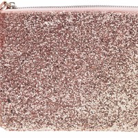 Pink Glitter Cosmetic Makeup Bag