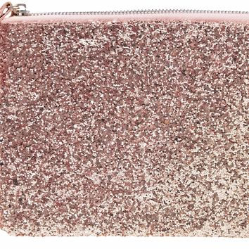 Pink Glitter Cosmetic Makeup Bag - LAST ONE!