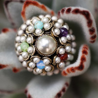 baby's breath ring by Ollipop