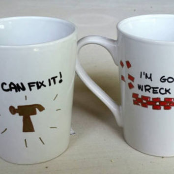 Wreck - it Ralph Coffee Cup Set