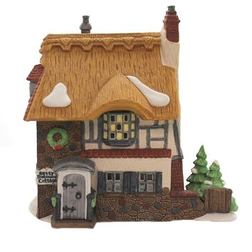 Department 56 House BETSEY TROTWOOD'S COTTAGE David Copperfield 55506.