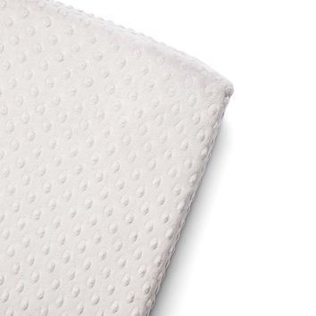 Steel Dot Minky Changing Pad Cover
