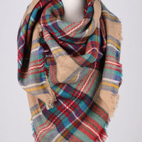 Blanket Scarf - Taupe