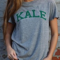 Grey Kale Loose Tee