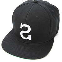 Society Original Products The Big S Snapback in Black : Karmaloop.com - Global Concrete Culture