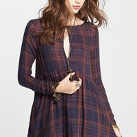 Women's Free People Exploded Plaid Tunic