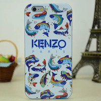 2014 Newest Lovely Luxury Brand No Fish No Nothing Case Kenzoe Soft TPU Case Cover For iPhone 6 4.7'' Free Shipping for ok