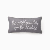 brushstroke garden the world was hers pillow