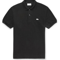 MR PORTER - + Lacoste Slim-Fit Cotton-Piqué Polo Shirt