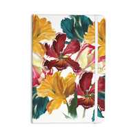 "Lydia Martin ""Flower Power"" Floral Rainbow Everything Notebook"